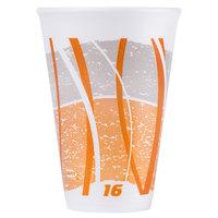 Dart 16LX16E 16 oz. Impulse Foam Cup - 1000/Case