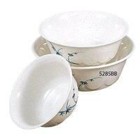 Blue Bamboo Melamine 53 oz. Scalloped Bowl – 8 1/4 inch 12 / Pack