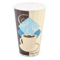 Dart Solo IC16 Duo 16 oz. Shield Paper Hot Cup 525 / Case