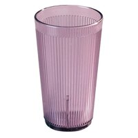 Carlisle 401255 Rose Crystalon SAN Tumbler 12 oz. - 12 / Pack