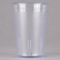 Cambro 800P2152 Colorware 7.8 oz. Clear Plastic Tumbler - 24 / Case