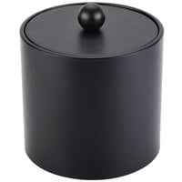 3 Qt. Black Vinyl Insulated Ice Bucket