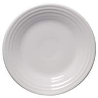 Homer Laughlin 465100 Fiesta White 9 inch Luncheon Plate - 12 / Case