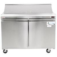 Avantco SCL2 48 inch Sandwich / Salad Prep Refrigerator