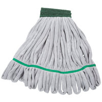Unger ST450 SmartColor RoughMop 16 oz. Green Heavy Duty Microfiber String Mop Head