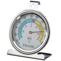 Taylor 5924 2 5/8 inch Classic Refrigerator / Freezer Dial Thermometer