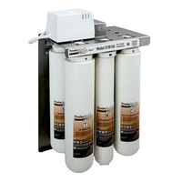 3M Cuno TSR150 ScaleGard Plus 2 Reverse Osmosis Water Filtration System for Steamer Equipment - 150 GPD
