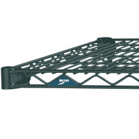 Metro 1424N-DSG Super Erecta Smoked Glass Wire Shelf - 14 inch x 24 inch