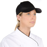 Black Chef Cap