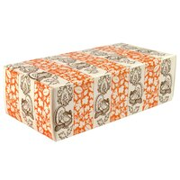 5 1/2 inch x 2 3/4 inch x 1 3/4 inch 1-Piece 1/2 lb. Thanksgiving Candy Box - 250 / Case