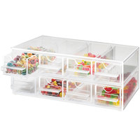 Cal-Mil 287 Eight Drawer Topping Dispenser - 13 inch x 8 inch x 5 inch