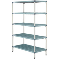 Metro 5AQ337G3 MetroMax Q Shelving Add On Unit - 18 inch x 36 inch x 74 inch
