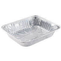 Choice 1/2 Size Foil Steam Table Pan 2 1/2 inch Deep 100/Case