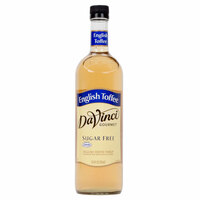 DaVinci Gourmet 750 mL English Toffee Sugar Free Coffee Flavoring Syrup