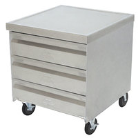 Advance Tabco MDC-2015 Mobile Drawer Cabinet - 3 Drawers