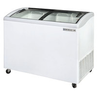 Beverage Air NC43-1-W Curved Lid Display Freezer / Novelty Case 8.7 Cu. Ft.