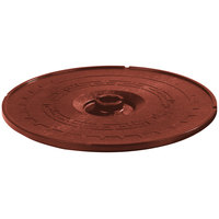 Carlisle 070729 Terra Cotta Lift-Off Replacement Lid for 071729 12 inch Tortilla Server - 6 / Case