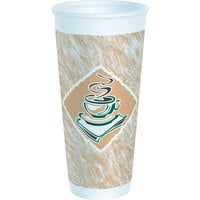 Dart Solo 24X16G 24 oz. Customizable Espresso Foam Cup 500/Case