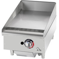 Star Max 615TF 15 inch Thermostat Controlled Gas Grill - Nat / LP Gas 28,300 BTU