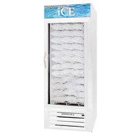 Beverage Air MMF27-1-W-ICE MarketMax White Indoor Ice Merchandiser - 27 Cu. Ft.