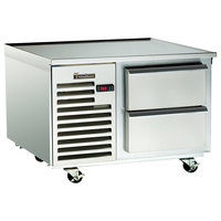 Traulsen TE036HT 2 Drawer 36 inch Refrigerated Chef Base - Specification Line