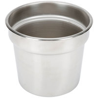 Vollrath 46063-2 Stainless Steel Inset for 46075 7.25 Qt. Classic Brass Trim Soup Marmite