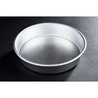 8 inch x 1 1/2 inch Tapered Aluminum Deep Dish Pizza Pan