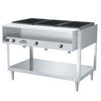 Vollrath 38003 ServePan Electric Three Pan Hot Food Table 120V - Sealed Well