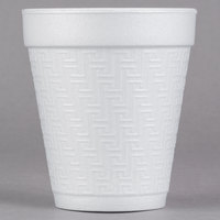 Dart Solo 8KY8 8 oz. Greek Key Design Foam Cup - 1000/Case