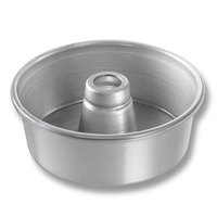 Chicago Metallic 46505 7 1/2 inch Glazed Aluminum Angel Food Cake Pan - 2 3/4 inch Deep