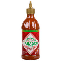 TABASCO® 20 oz. Sriracha Hot Sauce - 6/Case
