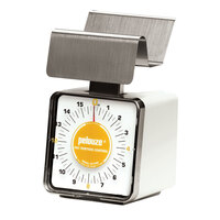 Rubbermaid Pelouze KF16SS 1 lb. Contoured Portion Control Scale (FGKF16SS)