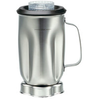 Waring CAC35 32 oz. Stainless Steel Container with Lid and Blade Assembly for BB900 Blender