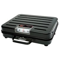 Rubbermaid Pelouze P114S 114 kg. Mechanical Receiving Scale Metric - Briefcase (FGP114S)