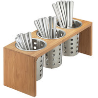 Cal-Mil 1425-3-60 Bamboo Three Cylinder Display