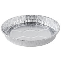 Durable Packaging 1000-30 9 inch Foil Cake Pan - 500 / Case