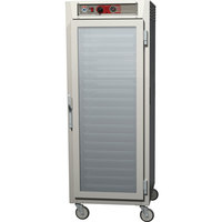 Metro C569-NFC-LPFC C5 6 Series Full Height Reach-In Pass-Through Heated Holding Cabinet - Clear Doors
