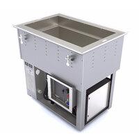 Vollrath 3667101U Bottom Mount 1 Pan Cold / Hot Food Well - 120V