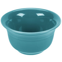 Homer Laughlin 450107 Fiesta Turquoise 6.75 oz. Bouillon - 12 / Case