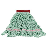 Continental A02801 16 oz. Small Green Blend Loop End Mop Head with 5 inch Band
