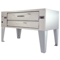 Bakers Pride Y-600 Super Deck Y Series Liquid Propane Single Deck Pizza Oven 60 inch - 120,000 BTU