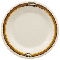 GET WP-9-RD 9 inch Diamond Rodeo Wide Rim Plate - 24/Case