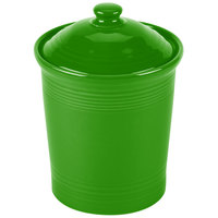 Homer Laughlin 572324 Fiesta Shamrock Medium 2 Qt. Canister with Cover - 2 / Case