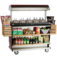 Alto-Shaam ITM2-72/DLX Deluxe Island Hot Food Takeout Merchandiser - 72 inch