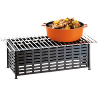 Cal-Mil 1361-22 Iron Black Chafer Alternative - 22 inch x 12 inch x 7 1/2 inch