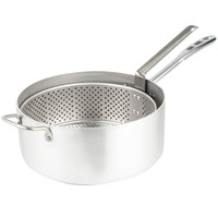 Vollrath 68228 Wear Ever 12 Qt. Heavy Duty Aluminum Fryer Pot with Basket