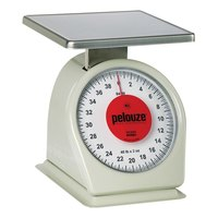 Rubbermaid Pelouze 840W 40 lb. Portion Scale - 9 inch x 9 inch Platform (FG840W)