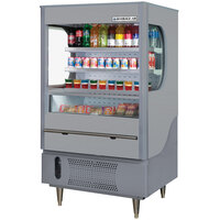Beverage Air VM12-1-G Gray VueMax Air Curtain Merchandiser 35 inch - 12 Cu. Ft.