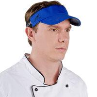 Royal Blue Headsweats 7703-204 CoolMax Chef Visor