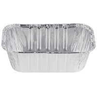 D&W Fine Pack A79 1 lb. Foil Bread Loaf Pan   - 50/Pack